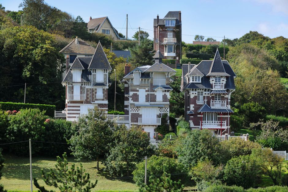 Aux alentours de l'hotel du Tréport en Normandie # Bois De Cise Hotel